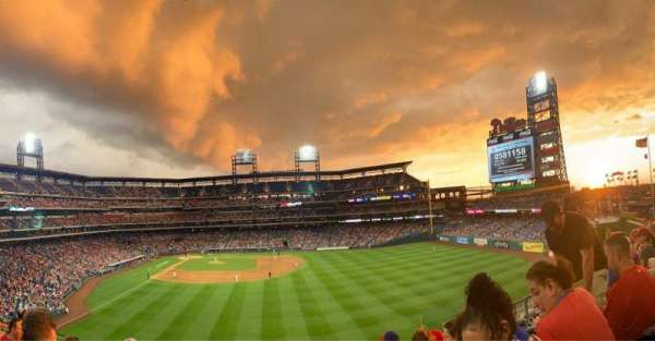 Citizens Bank Park, section: 203, row: 5, seat: 7