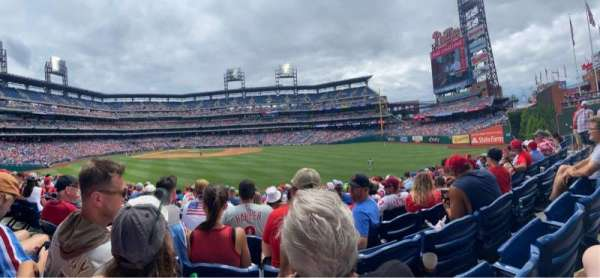 Citizens Bank Park, section: 102, row: 12, seat: 16