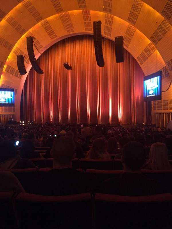 Radio City Music Hall, section: Orchestra 2, row: N, seat: 203