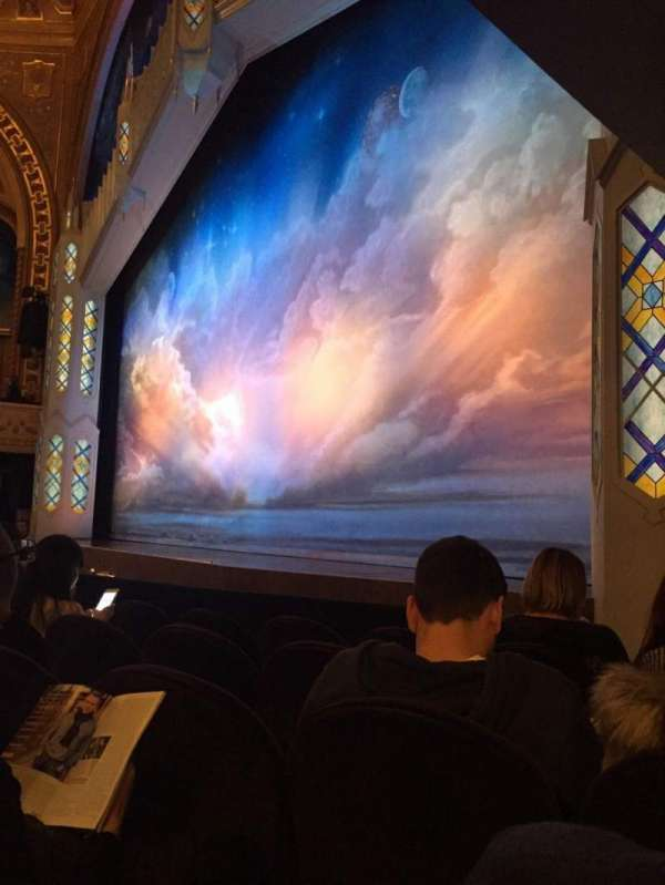 Eugene O'Neill Theatre, section: Orchestra R, row: E, seat: 22