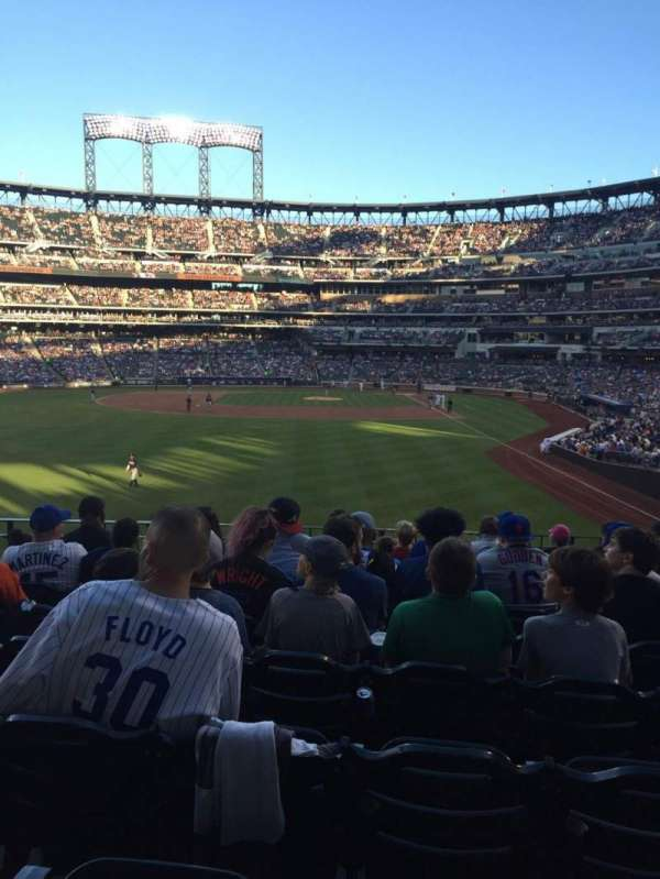 Citi Field, section: 134, row: 7, seat: 8