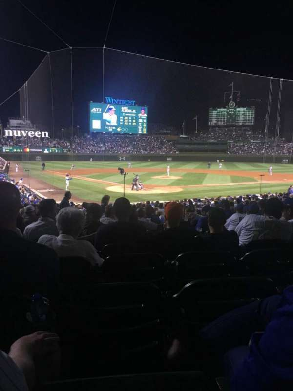 Wrigley Field, section: 119, row: 12, seat: 6