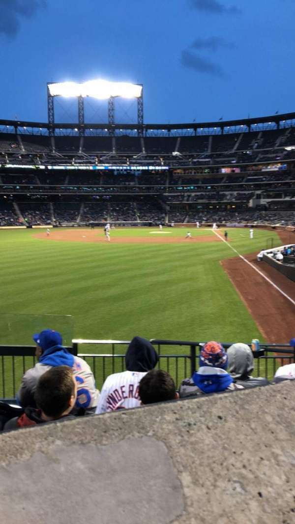 Citi Field, section: 132, row: 25, seat: 7