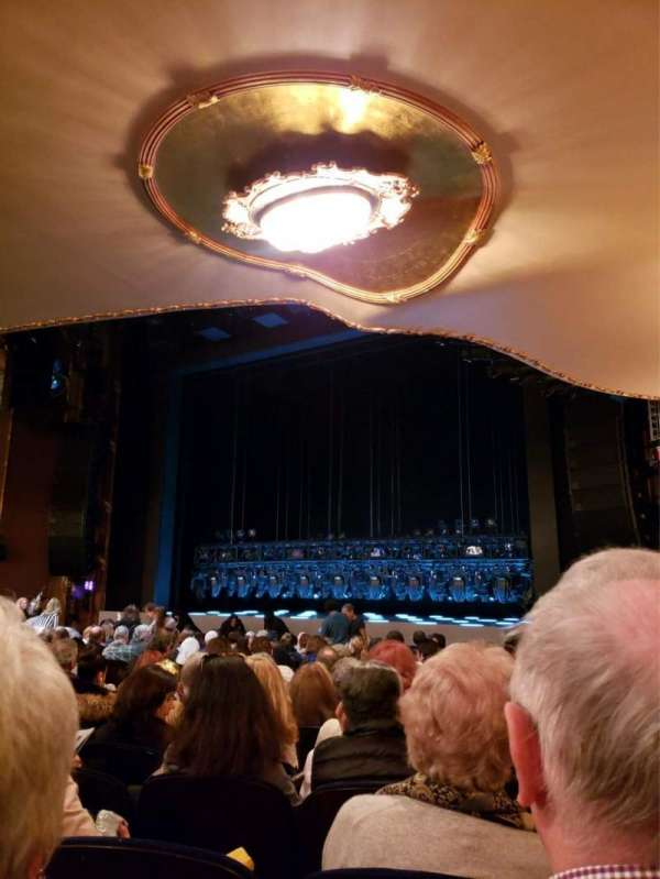 Lunt-Fontanne Theatre, section: Orchestra R, row: R, seat: 20