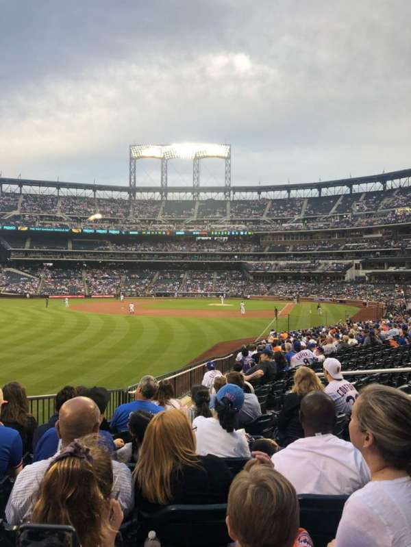 Citi Field, section: 131, row: 21, seat: 1