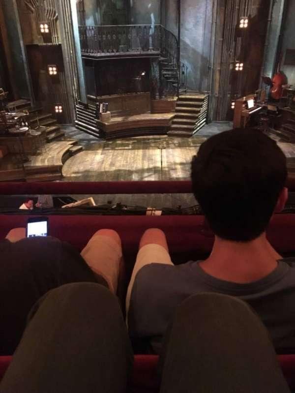 Walter Kerr Theatre, section: MezzC, row: B, seat: 108