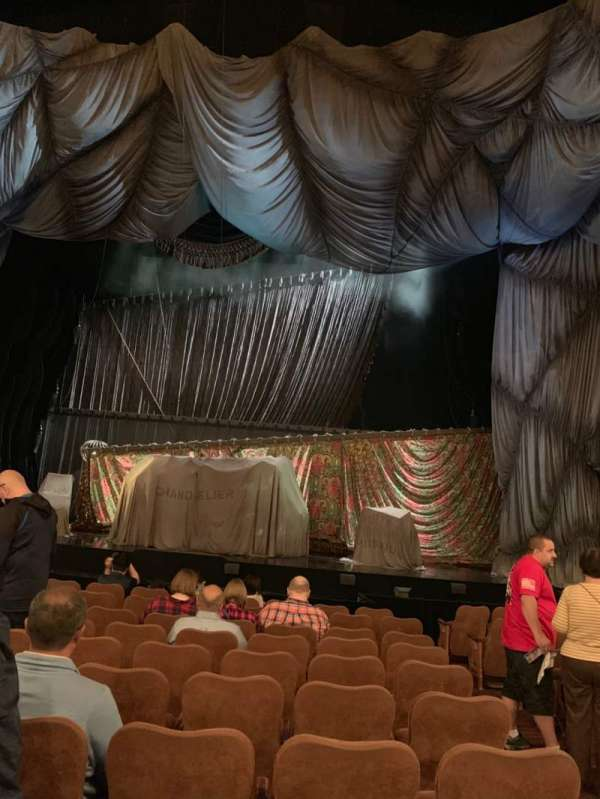 Majestic Theatre, section: Orchestra C, row: I, seat: 113