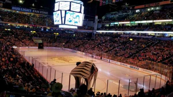 Bridgestone Arena, section: 119, row: J, seat: 11
