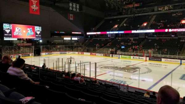 Van Andel Arena, section: 107, row: P, seat: 17