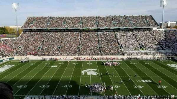 Spartan Stadium, section: 124, row: 2, seat: 5