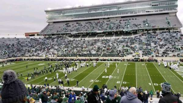 Spartan Stadium, section: 7, row: 49, seat: 6