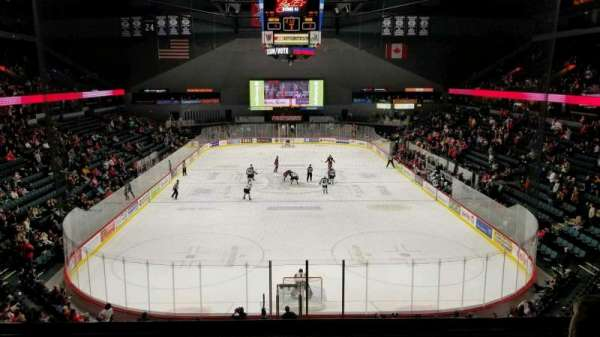 Van Andel Arena, section: 201, row: D, seat: 13