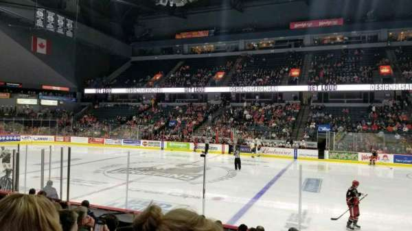 Van Andel Arena, section: 107, row: J, seat: 16