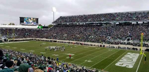 Spartan Stadium, section: 20, row: 45, seat: 43