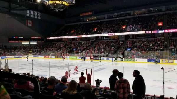 Van Andel Arena, section: 106, row: L, seat: 14