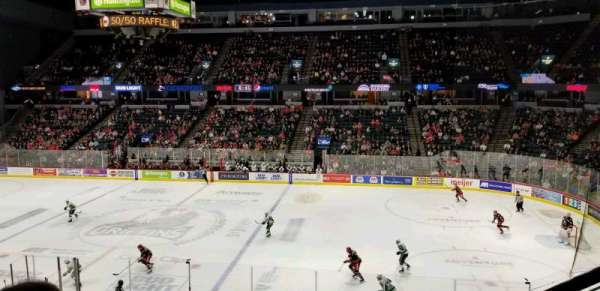 Van Andel Arena, section: 207, row: B, seat: 3