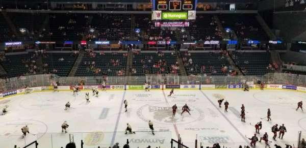 Van Andel Arena, section: 222, row: H, seat: 19