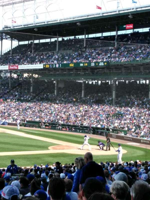 Wrigley Field, section: 212, row: 1, seat: 2