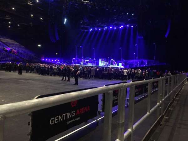 Resorts World Arena, section: WA, row: A, seat: 37