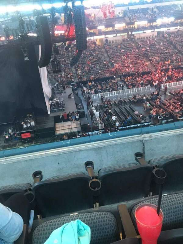 American Airlines Center, section: 220, row: C, seat: 4