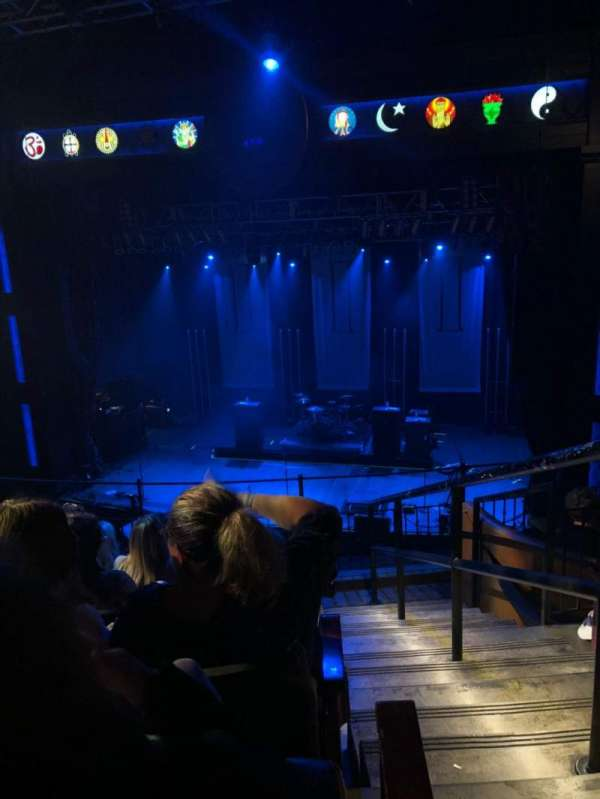 House Of Blues - Dallas, section: Balcony Center, row: F, seat: 217