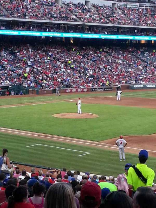 Globe Life Park in Arlington, section: 36, row: 29, seat: 4