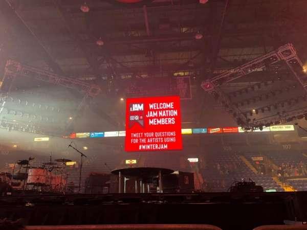 Santander Arena, section: Floor, row: 2