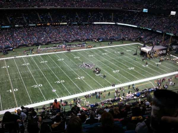 Mercedes-Benz Superdome, section: 643, row: 22, seat: 21
