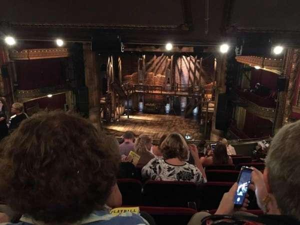 CIBC Theatre, section: Mezzanine LC, row: L, seat: 16