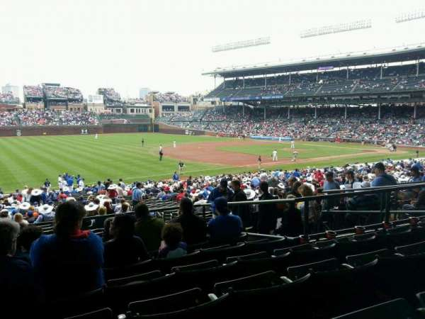 Wrigley Field, section: 207, row: 7, seat: 10