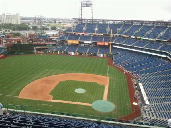 Citizens Bank Park, section: 426, row: 16, seat: 12