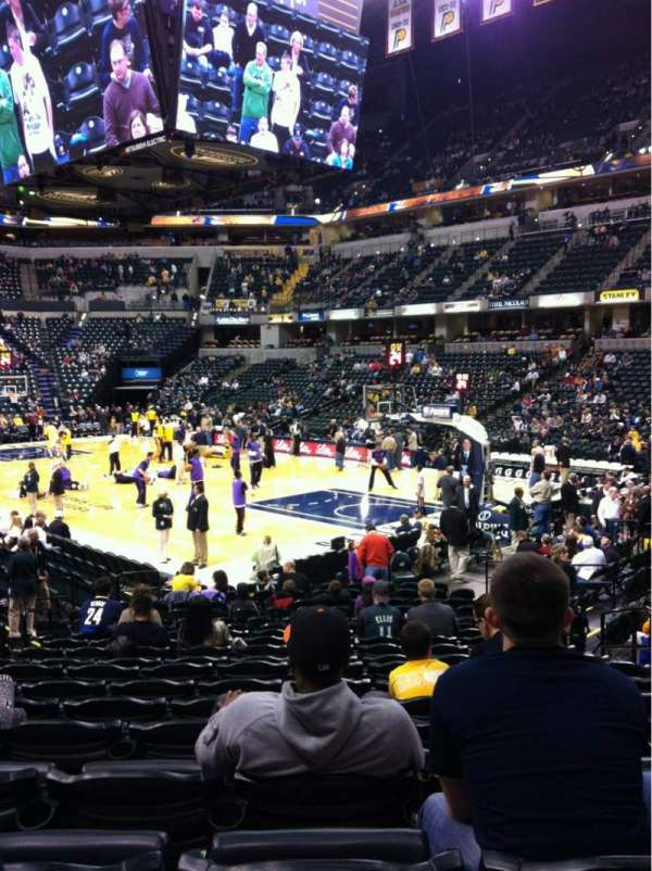 Bankers Life Fieldhouse, section: 13, row: 19, seat: 5