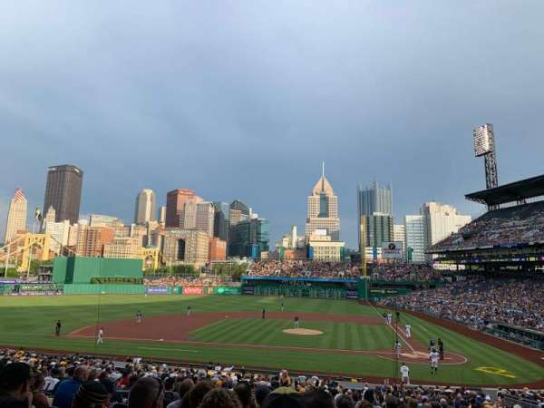 PNC Park, section: 120, row: Y, seat: 10