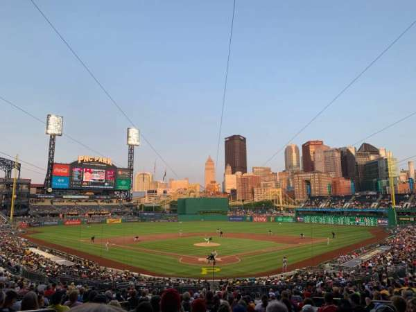 PNC Park, section: 116, row: Z, seat: 8
