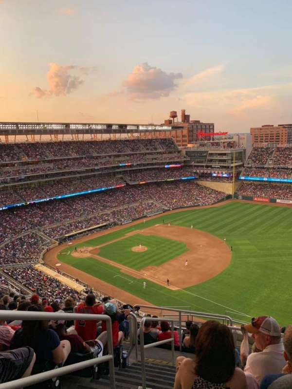 Target Field, section: 304, row: 14, seat: 24
