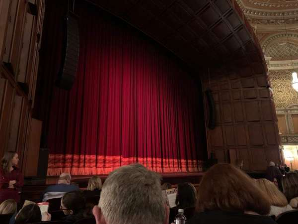 Benedum Center, section: Orchestra LC, row: F, seat: 45
