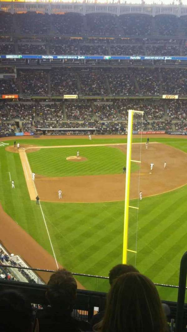Yankee Stadium, section: 407b, row: 5, seat: 1
