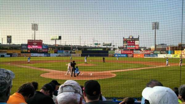 Frawley Stadium, section: 14, row: 7, seat: 6