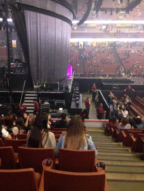 Honda Center, section: 210, row: M, seat: 1