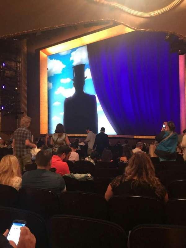 Lunt-Fontanne Theatre, row: Q, seat: 16