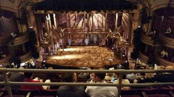 Richard Rodgers Theatre, section: Rear Mezzanine C, row: A, seat: 105