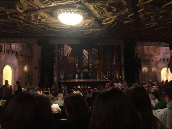 Orpheum Theatre (San Francisco), section: Orchestra L, row: BB, seat: 7