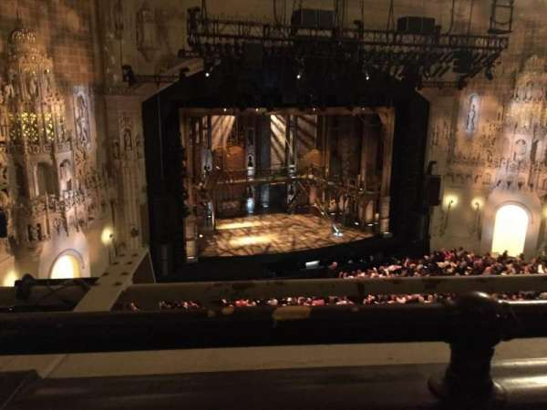 Orpheum Theatre (San Francisco), section: Balcony L, row: A, seat: 1