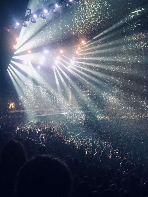The O2 Arena, section: 104, row: S, seat: 127