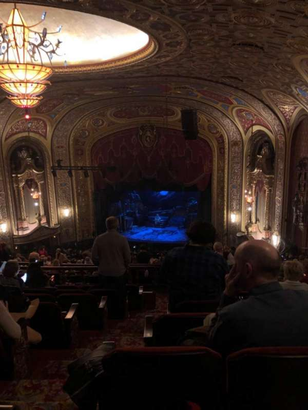 Providence Performing Arts Center, section: Second Dress Circle (Right), row: R, seat: 4