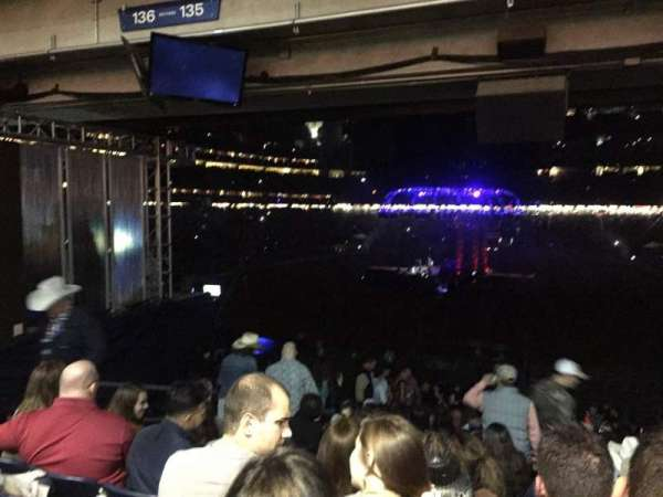 NRG Stadium, section: 135, row: JJ, seat: 19
