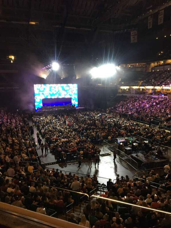 Bankers Life Fieldhouse, section: 112, row: 1, seat: 10
