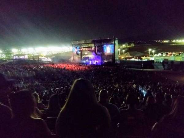 FivePoint Amphitheater, section: TERR301, row: 34, seat: 46, 47