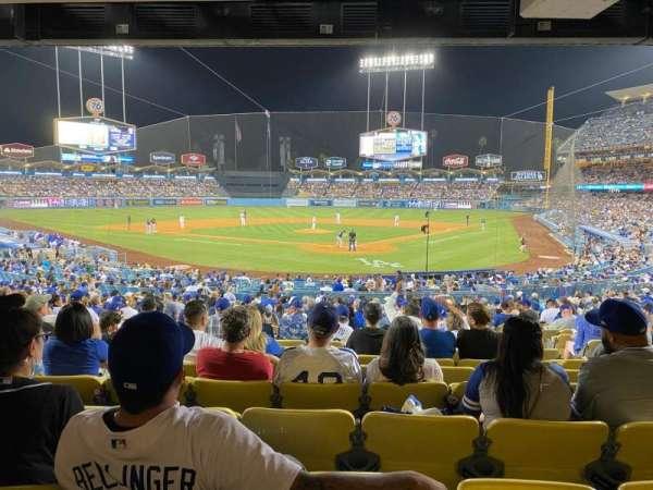 Dodger Stadium, section: 3FD, row: W, seat: 6