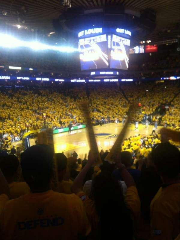 Oakland Arena, section: 119, row: 21, seat: 12